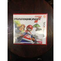Mario Kart 7 3ds Novo Mídia Física