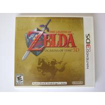 Zelda Ocarina Of Time 3ds 2ds Nintendo Novo Lacrado