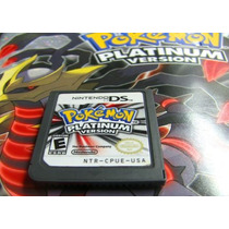 Nintendo Ds: Pokémon Platinum - 100% Original