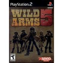 Wild Arms 5 Series 10 Th Anniversary Edition Lacrado Raro