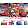 Carros - Disney Pixar Cars Collections - Playstation 2.