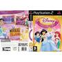 Princesas Disney - Jogo P/ Meninas Áudio Espanhol Ps2 Patch