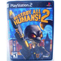 Destroy All Humans! 2 Ps2 Orig. Amer. Completo Perf Aproveit