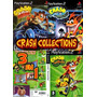 Crash Collectins Cd1, Cd2 E Cd3-ps2