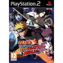 Naruto Ultimate Ninja 5 - Playstation 2 - Frete Gratis