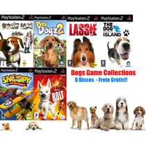 Dogs Game Collections - Playstation 2 - Frete Gratis.