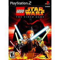 Lego Star Wars Para Playstation 2 (kit 7 Jogos Ps2 Infantil