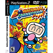 Bomberman 1-2-3-4-5 Collections Playstation 2 - Frete Gratis