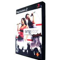 Singstar Rocks Original Ps2 Playstation 2 Play 2