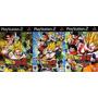 Dragon Ball Z Budokai Tenkaichi 1, 2 E 3 Para Playstation 2