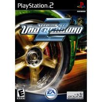 Jogo Ps2 - Need For Speed Underground 2