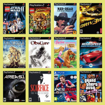 22 Jogos Games Patchs / Play2 Ps2 - A Sua Escolha + Brinde!
