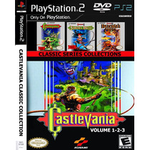 Castlevania Classic Collections - Playstation 2 - Frete Grat