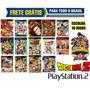 Dragon Ball Z Ps2 Collection (kit 10 Jogos) Frete Grátis