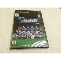 Winning Eleven 2000 Japones (sony Playstation 2) Lacrado