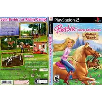 Patch Barbie Horse Adventures Para Ps2