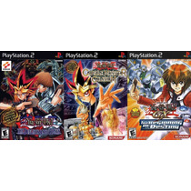 Yu-gi-oh! Para Playstation 2 (kit 3 Jogos Ps2 Anime