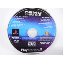 Oficial Us Playstation Magazine Disco De Demo Raro Ps2 Origi