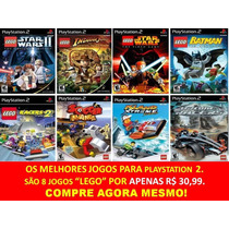 Lego Batman Para Playstation 2 (8 Jogos Ps2 Infantil