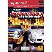 Patch Midnight Club 3 Dub Edition Ps2 - Frete Apenas R$ 5!