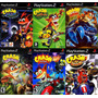 Crash Bandicoot The Wrath Of Cortex Para Ps2 (6 Games Play 2