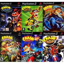 Crash Bandicoot: Mind Over Mutant Para Ps2 (6 Games Play 2