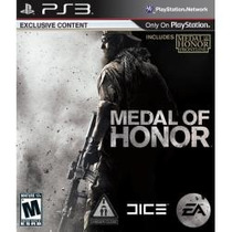 Playstation 3 - Medal Of Honor - Medalha De Honrra