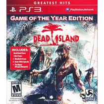Dead Island Game Of The Year Edition - Novo E Lacrado