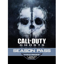 Season Pass Call Of Duty®: Ghosts - Ps3 E Ps4
