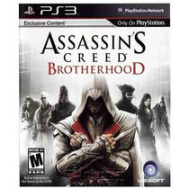 Assassins Creed Brotherhood - Ps3 Novo Original Lacrado