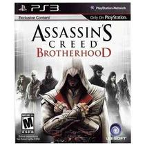 Assassins Creed Brotherhood - Ps3 Novo Original Lacrado