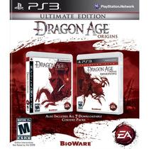 Jogo Lacrado Dragon Age Origins Ultimate Edition Para Ps3