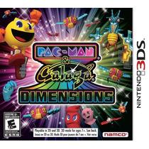 Jogo Novo Lacrado Pac-man & Galaga Dimensions Para 3ds