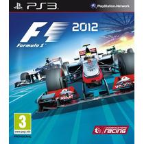 Formula 1 2012 , Play 3 , Codigo Psn !!!