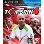 Lajeado- Rs Top Spin 4 Ps3 - Pronta Entrega