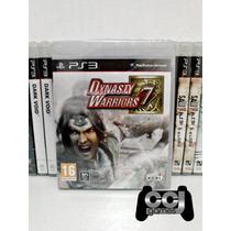 Dynasty Warriors 7 - Ps3 - Novo - Lacrado - Promoção