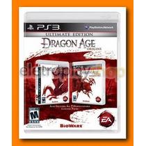 Ps3 Dragon Age Origins Ultimate Edition + Awakening +9 Dlc¿s