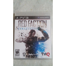 Jogo Sony Ps3 Red Faction Armageddon Lacrado Original