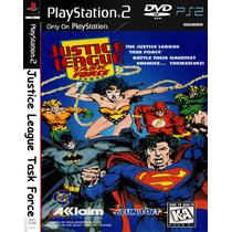 Liga Da Justiça Task Force - Playstation 2 Frete Gratis.