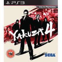 Yakuza 4 , Playstation 3 , Codigo Psn !!!