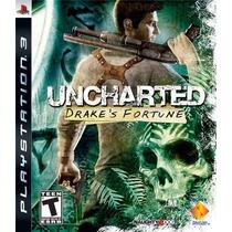 Uncharted 1 Drake´s Fortune # Ps3 # Lacrado - Frete 8.99