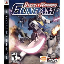 Dynasty Warriors: Gundam Ps3 Raro!!!!
