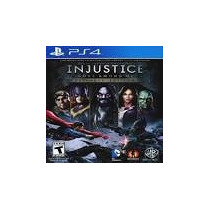 Injustice Gods Among Us -ultimate Edition Ps4 Dublado Pt Br