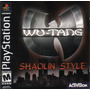 Wu-tang Shaolin Style - Playstation 1 - Frete Gratis.