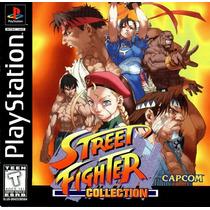 Street Fighter Collection Psx Ps1 Psone Só Pague Ao Receber