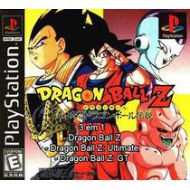 Dragon Ball Z 3 Em 1 Ps1 Patch