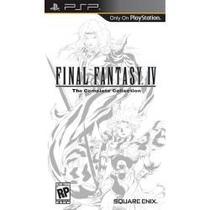Jogo Umd Para Psp Final Fantasy Iv The Complete Collection