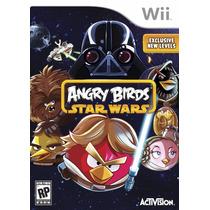 Jogo Game Angry Birds Star Wars Wii Original Lacrado