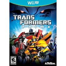 Jogo Semi Novo Transformers Prime The Game Pra Nintedo Wii U