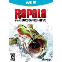 Jogo Lacrado Rapala Pro Bass Fishing Para Nintendo Wii U